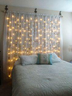 28 fantastic girls bedroom decor ideas with led string lights 11 Cute Bedroom Ideas, Girl Bedroom Designs, Girls Bedroom, Bedrooms, Home Bedroom, Room Decor Bedroom, Aesthetic Room Decor, Teen Room Decor, Minimalist Bedroom