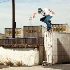 Backside Overcrook from etnies skateboarding team rider @nick_garcia. : @davidbroach #etnies #skateboarding