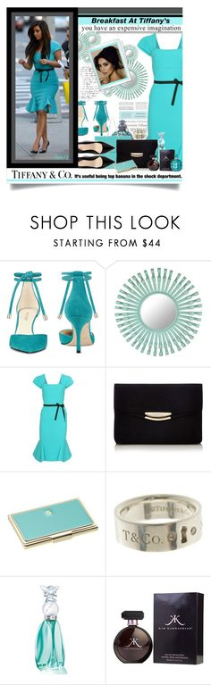 """BREAKFAST AT TIFFANYS"" by polyvore-suzyq ❤ liked on Polyvore featuring Tiffany & Co., Nine West, Selamat, Roland Mouret, Jennifer Lopez, Kate Spade and Anna Sui"