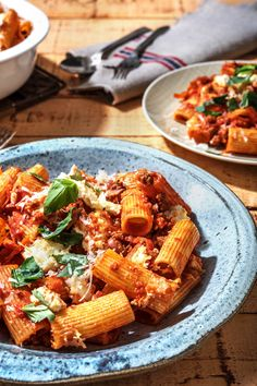 Pasta Recipes, Dinner Recipes, Rigatoni Recipes, Lamb Ragu, Lamb Dinner, Hello Fresh Recipes, Recipes From Heaven, How To Cook Pasta, Weeknight Meals