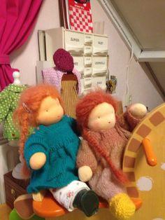 Claudia en Marianne , Zonnekindpoppen van Edith's Poppen 2015