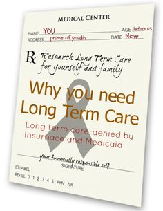 How not planing for long term care now is a bad idea. Genworth Financial can help. Health And Fitness Tips, Health And Wellness, Long Term Care Insurance, Ways To Be Healthier, Homeopathic Remedies, Assisted Living, Medical Center, Live Long, Helpful Hints