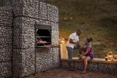 Gabion braai - i just want to call it a fire...