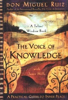 For real ... WHOA - all this dude's stuff is.    The Voice of Knowledge: A Practical Guide to Inner Peace by Don Miguel Ruiz, http://www.amazon.com/dp/1878424548/ref=cm_sw_r_pi_dp_PP.Kpb1JEPPXH