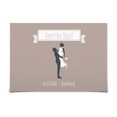Save the Date Hipster Hochzeit in Taupe - Postkarte flach #Hochzeit #Hochzeitskarten #SaveTheDate #kreativ #modern https://www.goldbek.de/hochzeit/hochzeitskarten/save-the-date/save-the-date-hipster-hochzeit?color=taupe&design=21e57&utm_campaign=autoproducts