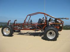 sand rail, one day