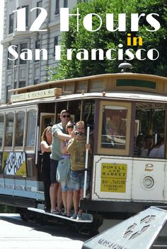 Only have a short time to explore San Francisco? No worries! This itinerary takes you to 4 popular spots around the city in just 12 hours!
