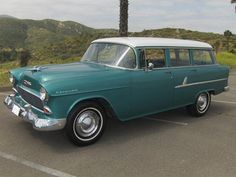 1955 Chevy, 1955 Chevrolet, Chevrolet Bel Air, Beach Wagon, Station Wagon Cars, Chevy Nomad, Best Classic Cars, Unique Cars, Chevy Impala