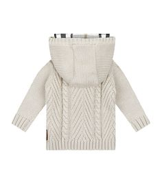 Burberry Knitted Hoodie | Harrods