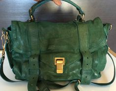 Proenza Schouler green 'PS1'