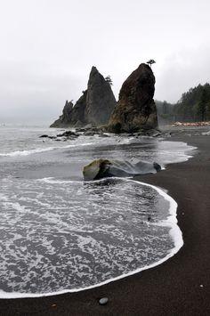 Pacific Coastline, Washington State