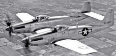 The Bizarre F-82 Twin Mustang fighter,  One of the most unusual airplanes in aviation history, the F-82 Twin Mustang was a specialty escort fighter designed for very long range patrols.  First developed in 1943, the F-82 was simply an airplane built from two.  Two regular P-51 Mustangs were fused together wing to wing with a rear stabilizer added on the back.   Designed for extra long mission escorting bombers over Europe and Asia, the purpose of this was to have two cockpits with two pilots…