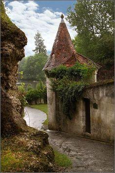 Castle Entry, Aquitaine, France