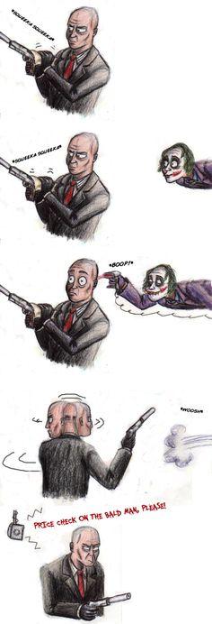 LOL // Joker Meets Agent 47 by Cannonbawl
