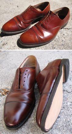 before and after allen edmonds recrafting process #allenedmonds #shoes #menswear