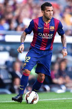 Happy Birthday to Barcelona's Dani Alves!