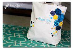 Tote Bag Sewing Patterns and Tutorials - Sugar Bee Crafts
