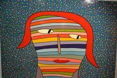 Milo Lockett elegido por la seño Silvi Cubism Art, Making Faces, Basic Shapes, Arte Pop, Primitive Crafts, Outsider Art, Face Art, Art Faces, Whimsical Art