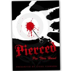Pierced Pin Thru Hand presented by Steve Fearson : Free Shipping & Low Prices at MagicNevin