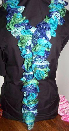 Sashay scarves by SomersetStitchery on Etsy, $15.00