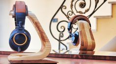 handmade headphone stand