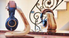 handmade headphone stand