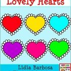 Sweet Valentines Day Clip Art for teachers and homeschoolers. Features colorful hearts that may be used in your printables and center activities. ...