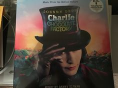 Charlie and the Chocolate Factory Soundtrack (colored vinyl)