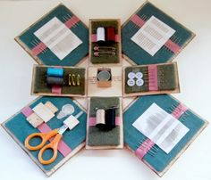 Timeless Other Project Sewing Caddy Inside by Trudi Harrison