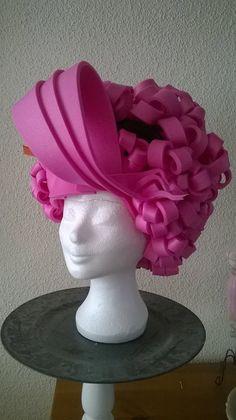 Pink Ladies Foam Wig/Cosplay/Halloween/Theme by LadyMallemour
