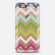 Bright colored chevron phone case!!