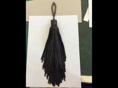 Leather Tassel, Tassel Necklace, Tassels, Jewelry, Jewlery, Jewerly, Schmuck, Jewels, Tassel