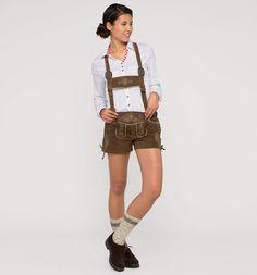 Pantalon bavarois dans marron
