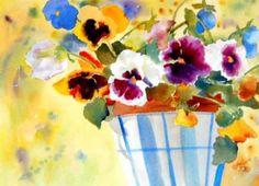 """Pansy Pot"" - by Kay Smith"