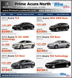 Prime Acura North >> 645 Best Acura Models Images Vehicles Acura Tl Acura Suv