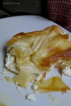 Greek Pita, Greek Recipes, Dessert Recipes, Desserts, Lasagna, Tart, Cabbage, Food And Drink, Health Fitness