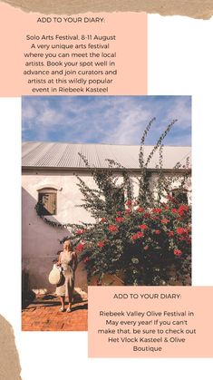Visual journal through the Swartland