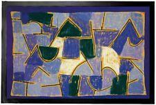 Paul Klee - Blue Night Abstract Art Door Mat Floor Mat (24x16in) #94417