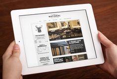 The National  #webdesign #web #design #inspiration #JablonskiMarketing #marketing #branding