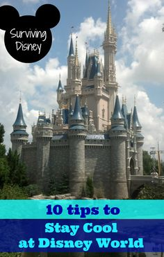 10 Tips for Staying Cool at Disney World.... some of these I've never thought of before.....pin now read later!