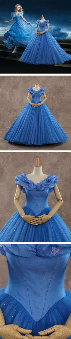 Get Cinderella's dress here! Fulfill your princess dress now!!