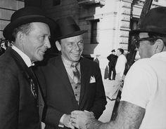 """Robin and the 7 Hoods"" Bing Crosby, Frank Sinatra {1964}."