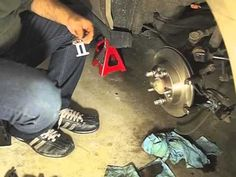 How To Replace Rear Disc Brakes Full EricTheCarGuy Httpwww - 2003 acura tl rotors