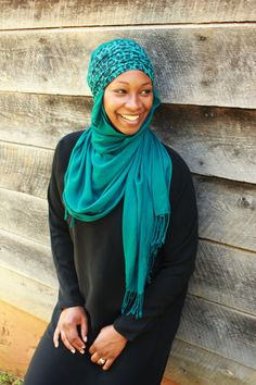 Teal Leopard Print Extra Wide Headband by INKhandcrafted on Etsy, $17.50