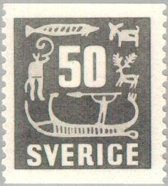 Znaczek: Rock Carvings (Szwecja) (Rock Carvings) Mi:SE 396,Sn:SE 468,Yt:SE 389