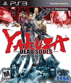 Video Game Yakuza Dead Souls