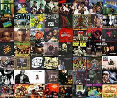 Some of the Greatest Hip Hop Albums Ever! www.BehindHipHop.com