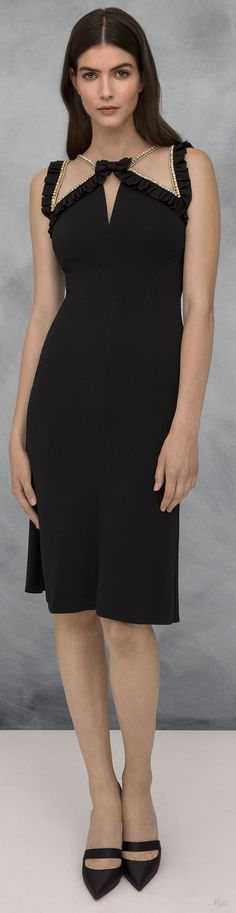 Little Black Dress : Resort 2019 Jenny Packham Beautiful Gowns, Beautiful Outfits, Nice Dresses, Short Dresses, Cocktail Outfit, Couture Accessories, Gowns Of Elegance, Jenny Packham, Couture Fashion