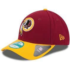 on sale 60795 f2106 eBay  Sponsored New Era Washington Redskins NFL The League 9FORTY Cap -  Burgundy Yellow
