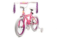 A GREAT CHRISTMAS PRESENT FOR THAT LUCKY GIRL ($112.00) Colour- Pink, Wheel size- 16